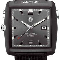 TAG Heuer Professional Golf Watch Stahl Grau Arabisch
