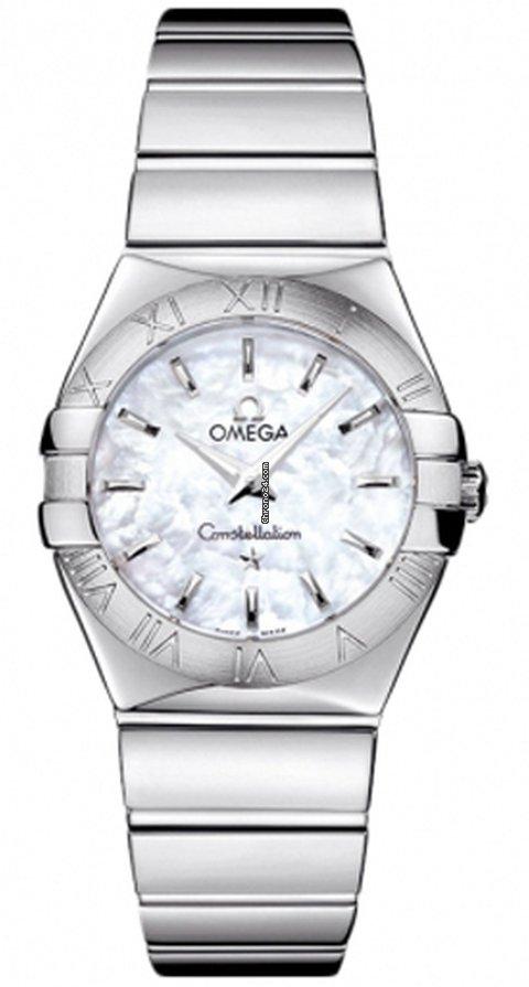 Omega Constellation Quartz 12310276005002 new