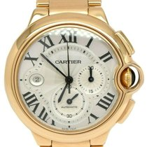 Cartier Rose gold Automatic Silver 44mm pre-owned Ballon Bleu 44mm