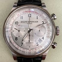 Baume & Mercier Steel 42mm Automatic MOA10046 pre-owned