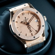 Hublot Classic Fusion 45, 42, 38, 33 mm Rose gold 45mm Gold United States of America, New Jersey, Englewood