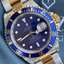 Rolex Submariner Date Oro/Acciaio 40mm Blu Senza numeri Italia, Eur (RM)