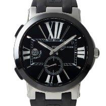 Ulysse Nardin Executive Dual Time Ceramic 43mm Black