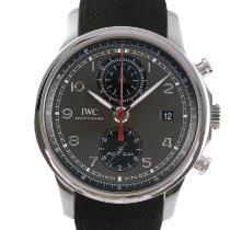 IWC Portuguese Yacht Club Chronograph Acero 43.5mm Plata