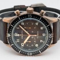 Zenith Pilot Type 20 29.2240.405/18.C801 Very good Bronze 43mm Automatic Finland, Imatra