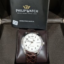 Philip Watch new Automatic Central seconds Luminous hands 41mm Steel Mineral Glass