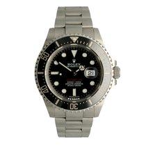 Rolex Sea-Dweller tweedehands 43mm Zwart Datum Staal