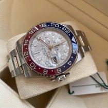 Rolex Белое золото Автоподзавод Cерый Без цифр 40mm новые GMT-Master II