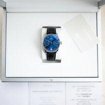 IWC Portuguese Automatic Steel 42.3mm Blue Arabic numerals United States of America, New York, NEW YORK