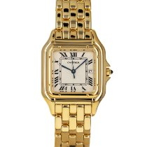 Cartier Panthère Yellow gold 27mm White Roman numerals United States of America, Maryland, Baltimore, MD