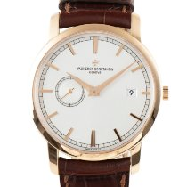 Vacheron Constantin Red gold Automatic 38mm pre-owned Patrimony