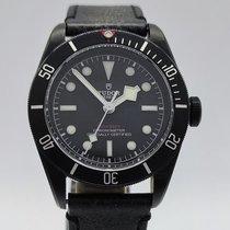 Tudor Black Bay Dark Stahl 41mm Schwarz Keine Ziffern