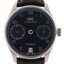 IWC (アイ・ダブリュー・シー) 中古 自動巻き 42mm ブルー