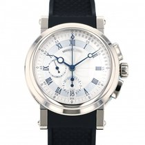 Breguet (ブレゲ) マリーン 新品 自動巻き 正規のボックスと正規の書類付属の時計 5827BB/12/5ZU