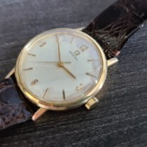 Omega Genève Gold/Steel 34mm White No numerals