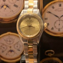 Rolex Oyster Perpetual Acero y oro Champán
