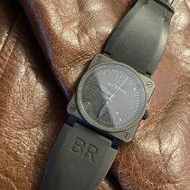 Bell & Ross BR0392-PHANTOM-CE Керамика 2011 BR 03-92 Ceramic 42mm подержанные