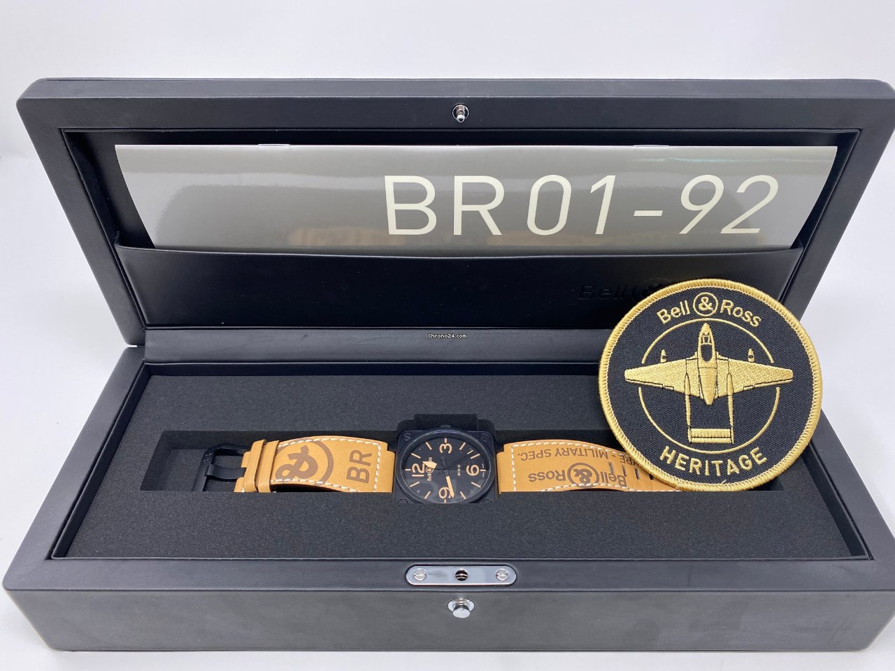 Bell & Ross BR 01-92 BR0192-HERITAGE 2017 pre-owned