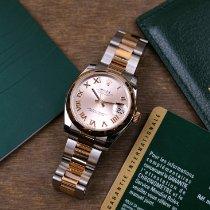Rolex Lady-Datejust nouveau 2014 Remontage automatique Montre avec coffret d'origine et papiers d'origine 178241