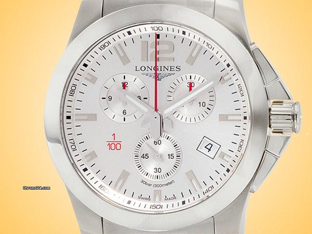 Longines Conquest L3.800.4.76.6 pre-owned