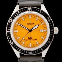 Certina pre-owned Automatic 43mm Orange Sapphire crystal 50 ATM