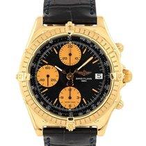 Breitling Chronomat 41 Yellow gold 41mm Black