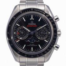 Omega Speedmaster Professional Moonwatch Moonphase Steel 44mm Black No numerals United Kingdom, Radlett