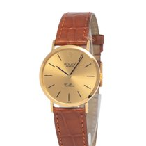 Rolex Cellini Yellow gold 32mm Champagne United States of America, New York, Hartsdale