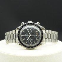 Omega Speedmaster Reduced tweedehands 39mm Zwart Chronograaf Staal