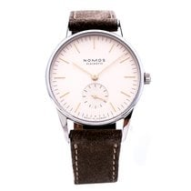NOMOS Orion 33 pre-owned 33mm Leather