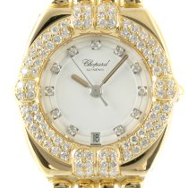 Chopard Gstaad Yellow gold 25mm White