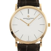 Vacheron Constantin Red gold Manual winding White 31.5mm pre-owned Patrimony