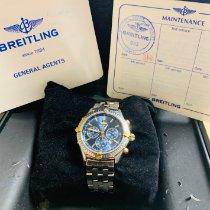 Breitling Shadow Flyback Acero y oro 38mm Azul Sin cifras