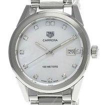 TAG Heuer Carrera Lady new Quartz Watch with original box WBG1312.BA0758