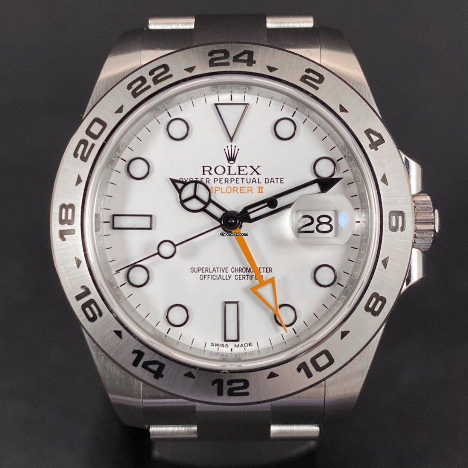 Rolex Explorer II 216570 2020 nov