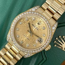 Rolex Lady-Datejust 178158 Very good Yellow gold 31mm Automatic