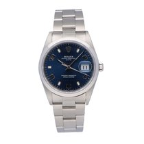 Rolex Oyster Perpetual Date Staal Blauw Nederland, Amsterdam