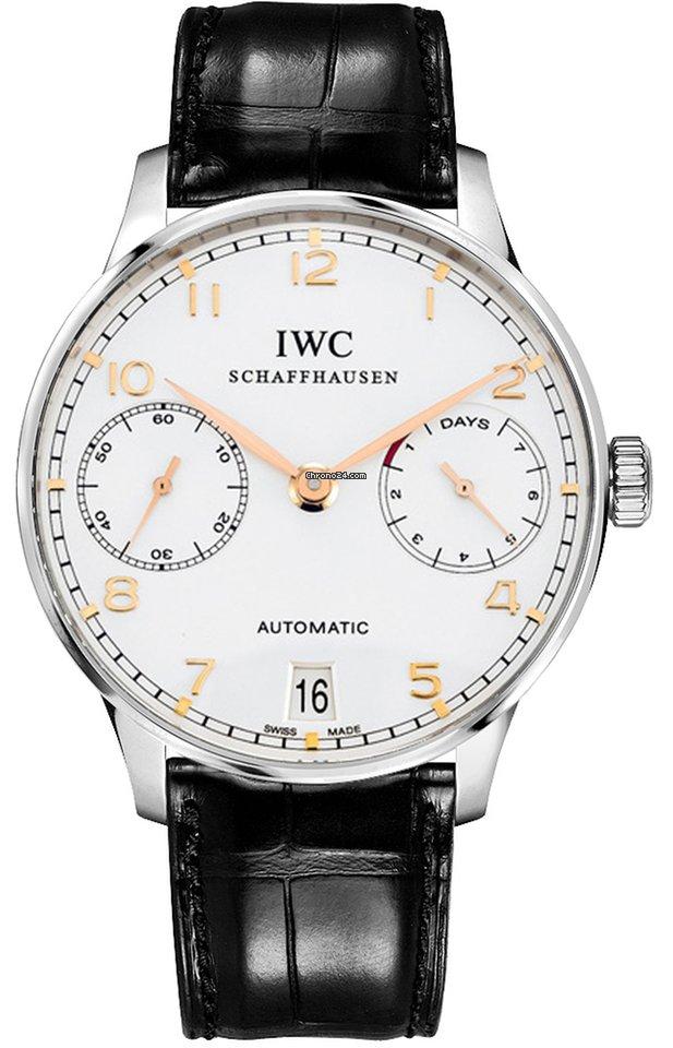 IWC Portuguese Automatic IW500114 подержанные