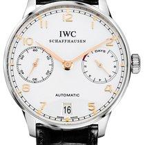 IWC IW500114 Сталь Portuguese Automatic 42.3mm подержанные