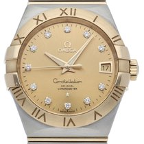 Omega Constellation Men pre-owned 38mm Champagne