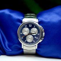 Montblanc Summit Steel 40mm Blue Arabic numerals United States of America, New York, New York