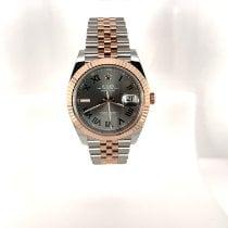 Rolex Datejust II Gold/Steel 41mm Grey Roman numerals United States of America, Florida, Miami