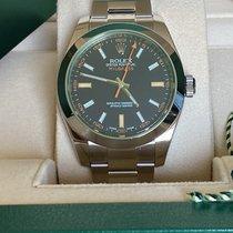 Rolex Milgauss 116400GV Neuve Acier 40mm Remontage automatique