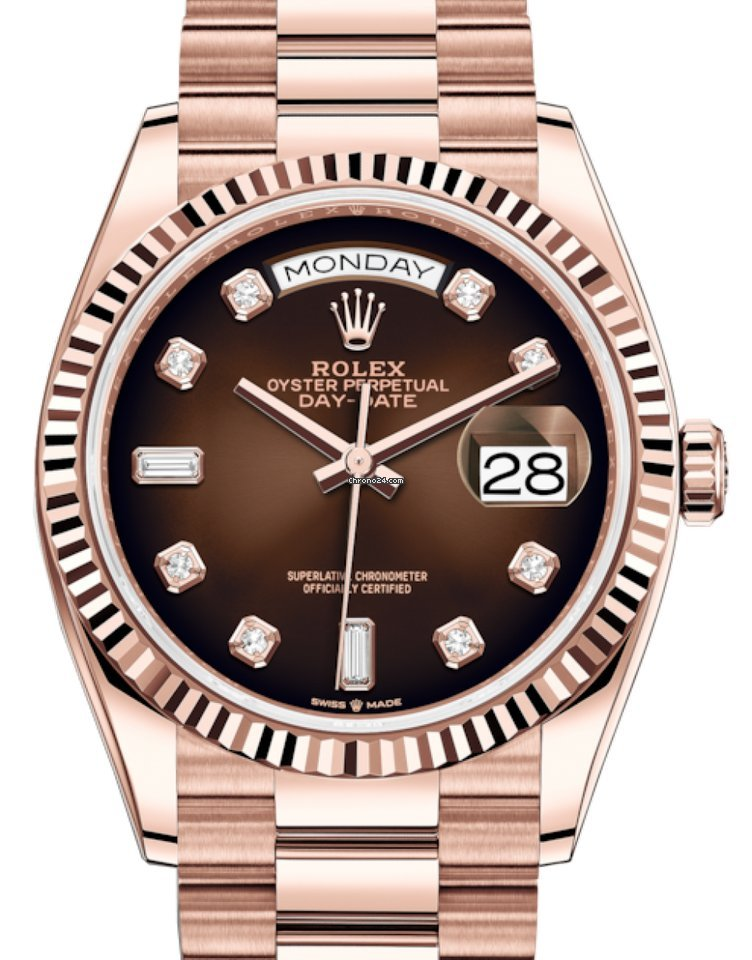 Rolex Day-Date 36 128235 2021 новые