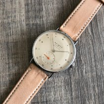 NOMOS Metro Neomatik pre-owned 35mm Champagne Leather