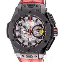 Hublot Big Bang Ferrari Cerámica 45mm Transparente Arábigos