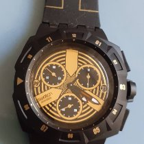 Swatch Plastic 43mm Chronograph SUIB404 new