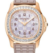 Patek Philippe Aquanaut Rose gold 35.6mm Mother of pearl Arabic numerals United States of America, New York, New York