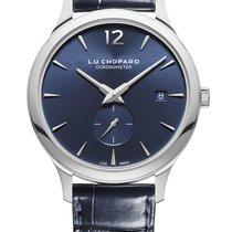 Chopard Platinum Automatic Blue Arabic numerals 40mm new L.U.C