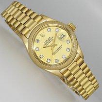 Rolex 6917 Gelbgold 1972 Lady-Datejust 26mm gebraucht Deutschland, Dresden